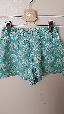 lovely girls mini boden shorts age 4-5 years