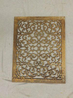 Antique Cold Air Return Grate Register Decorative Vent Victorian 26x20 226-17P