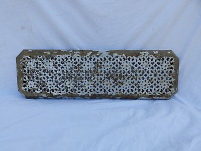 Antique Cast Iron Hot Water Steam Radiator Cover Plant Stand Floral Vtg 230-17P