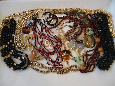 Vintage-Now Jewelry Lot to Wear Resell or Craft