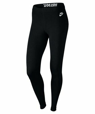 Nike Damen Sport Fitness Freizeit Leggings Leg Futura Logo Tights Hose 933346