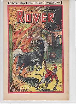rover comics golden age 1947   5 copies post free uk only