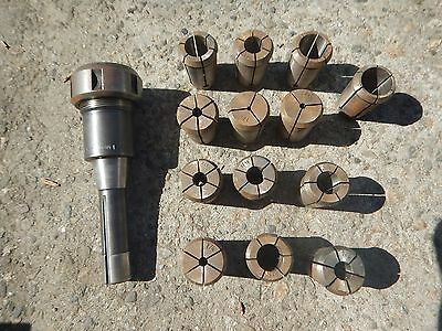 R8 Collet Chuck With 14 Collets