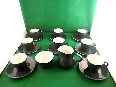 Poole Pottery Blue Moon Tea Set