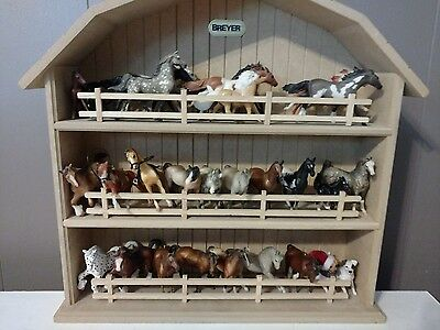 breyer horses minis and wall hanging barn