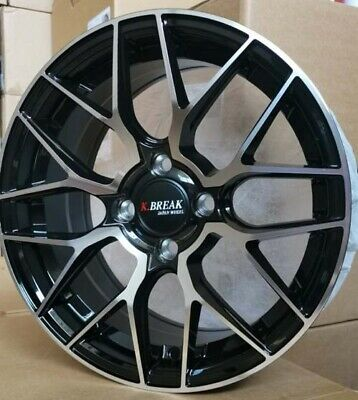4pcs CE28 16 inch Mag Wheels Rim 4X100 Alloy wheel Car Rims H801 FB -1