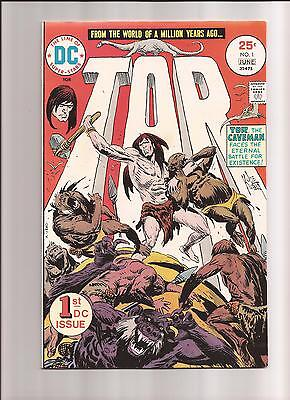 Tor 1 2 3 5 6 Joe Kubert DC Comics 5 book LOT 1970s Caveman Bronze Age