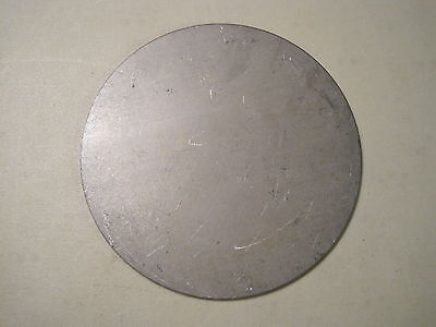 "1/8"" Steel Plate, Disc Shaped, 7"" Diameter, .125 A36 Steel, Round, Circle"