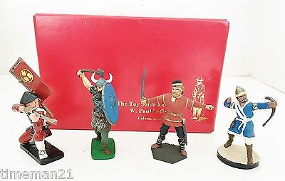 NEW HOPE DESIGN LeGreco Galena Toy Soldier lot of 4 03834