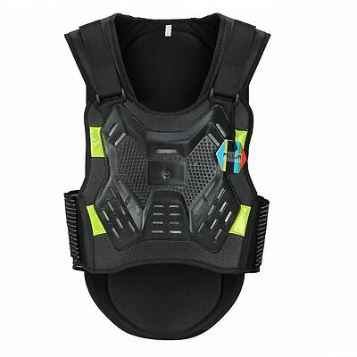 Kid Sport Protective Vest Cycling Body Guard Chest Back Protector Anti-fall