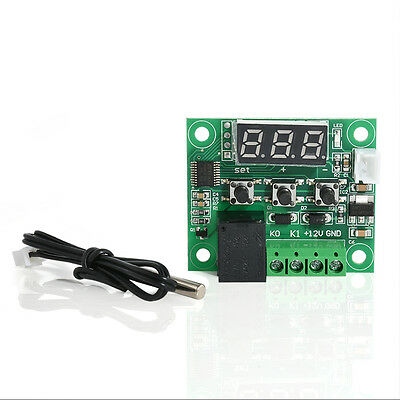 W1209 DC 12V Digital Heat Cool Temp Thermostat Switch Temperature Controller New