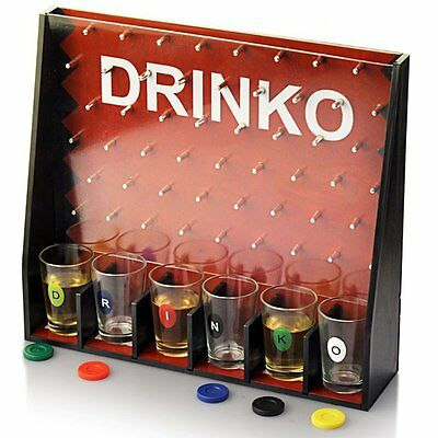Unique Bar Wedding Family Party Holiday Shot Games Drinking Glass Beer Wine GT