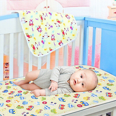 Baby Infant Diaper Nappy Urine Mat Nursery Bedding Changing Cover Pad 30*45cm
