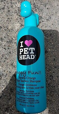 shampoing pour chiots  i love pet head puppy fun