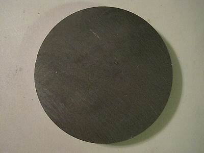"3/4"" Steel Plate, 10.00"" Diameter, Disc, Round, Circle, A36 Steel"
