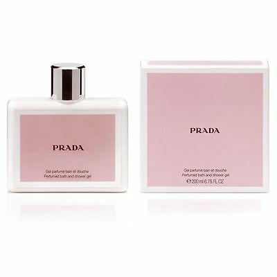 Prada AMBER 200ml (6.75 Fl.Oz) Bath & Shower Gel NEW & CELLO SEALED