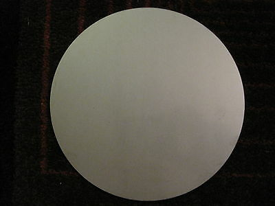 "1/8"" (.125) Stainless Steel Disc x 6"" Diameter, 304 SS, Round, Circle"