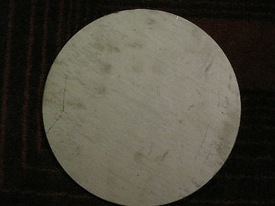 "3/16"" (.1875) Stainless Steel Disc x 4"" Diameter, 304 SS, Round, Circle"