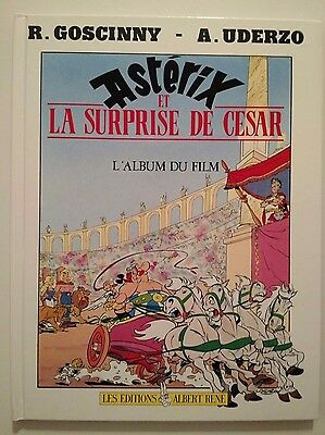 Asterix ** La Surprise De Cesar Album Du Film  ** Eo  Comme Neuf Goscinny/uderzo