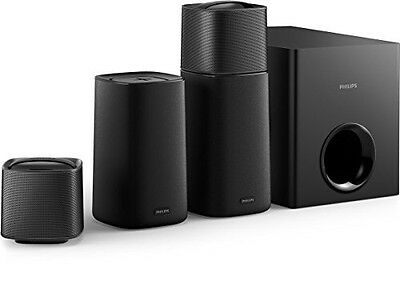 philips css5235y kinolautsprecher kabellose 4 1 surround nfc hdmi schwarz neu eur 248 00. Black Bedroom Furniture Sets. Home Design Ideas