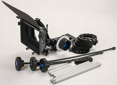 Cinematography Matte Box and Follow Focus Kit.