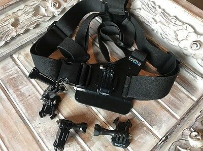 GENUINE GoPro Chesty Harness GCHM30-001 Fits all Hero 2,3,4,5, Session