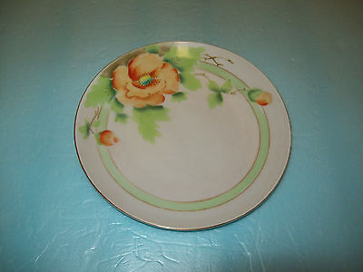 """Collectible  6"""" Meito China Hand Crafted In Japan And Hand Painted Flowers"""