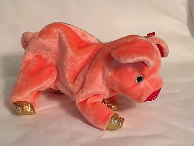 TY Beanie Baby - PIG Chinese Zodiac - Pristine with Mint Tags - RETIRED