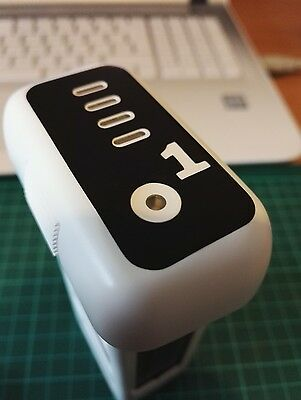 DJI Phantom 3 Battery Number Stickers - Pack of 6 - Multiple Colour Options