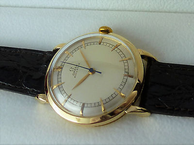 Omega Automatic 14K Gold Herrenuhr ** 585 Gold ** Cal. 501 **