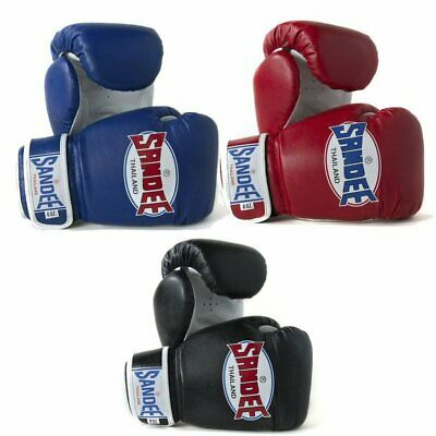 Sandee Kids Boxing Gloves Blue Red Black 4oz 6oz 8oz Muay Thai Boxing Kickboxing