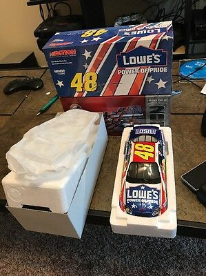 Jimmy Johnson Action #48 Lowe's Power Of Pride 2003 Monte Carlo 1:24 Scale