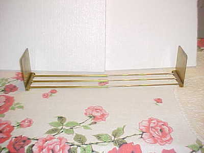Bradley And Hubbard B&h Brass Book Stand Expandable Extends To 2 Feet Antique