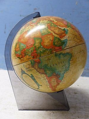 Very Stylish Vintage Globe On Perspex Stand - Scan Globe A/s Denmark