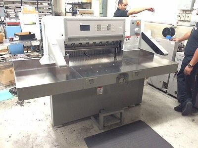"""POLAR MODEL 78  ES 30.7"""" PROGRAMMABLE PAPER CUTTER WITH AIR TABLE challenge"""