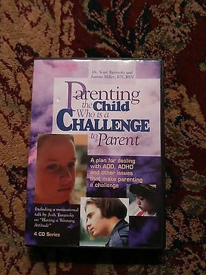Dr Scott Turansky PARENTING THE CHILD WHO IS A CHALLENGE TO PARENT 4 CD Set
