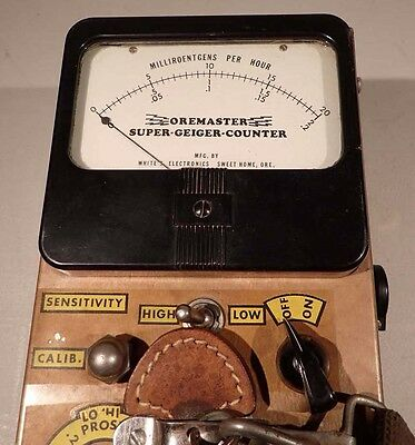 White's L3TSM-56 Oremaster Super Geiger Counter