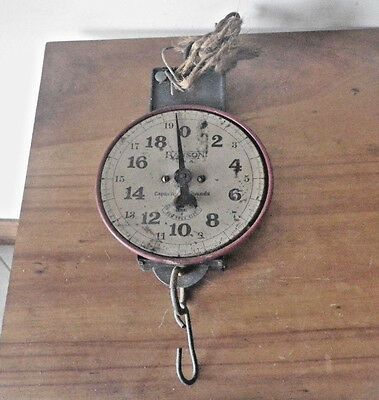 Vintage/Antique 20 # Hanson Hanging Farm Market Fruit Grocery Store Scale