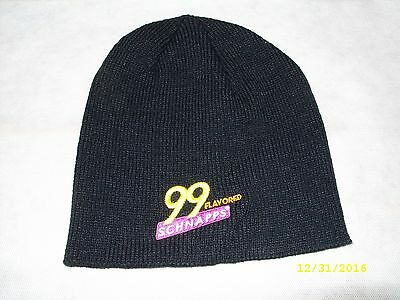 99 SCHNAPPS - Promo Embroidered Knit Winter Beanie Hat Cap *NEW*