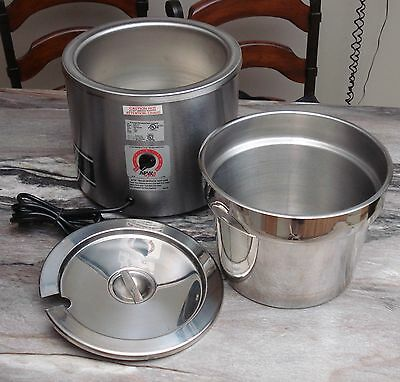 ACW Superior RCW-11 11 Qt Stainless Soup Kettle Warmer Commercial Restaurant