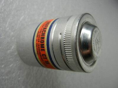 Film Holder 35Mm Agfa Film Canister Can Vintage Metal Can Silver