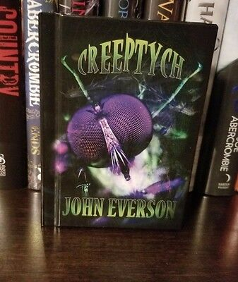 Creeptych by John Everson Signed Hardcover Delirium Books
