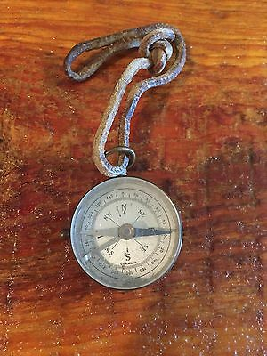 Vintage Brass Compass. Made In Germany.