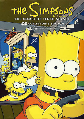 The Simpsons: The Complete Tenth (10) Season (Boxset) (D99)