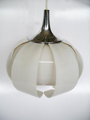 60s 70s RETRO FUNKY PENDANT LAMP SHADE CEILING LIGHT