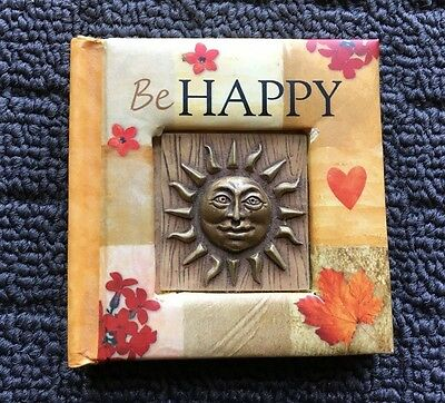 BE HAPPY A Collection of Quotations Motivational Miniature Gift Hardcover Book