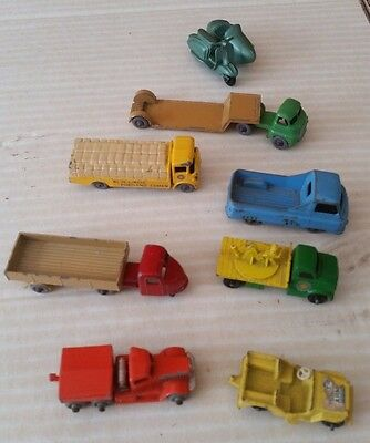 Lesney & Lone Star, Tuf Tots selection of 8 small vehicles - Lot 8A