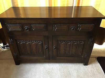 Old Charm Antique Style Wood Sideboard