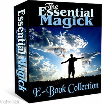 140+ BOOKS WICCA Witchcraft Book of Shadows Occult Magic Wiccan