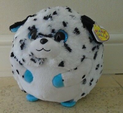 Ty Beanie Balls Buddy Size - Rascal The Dalmation -New With Tags - 23Cm Diameter